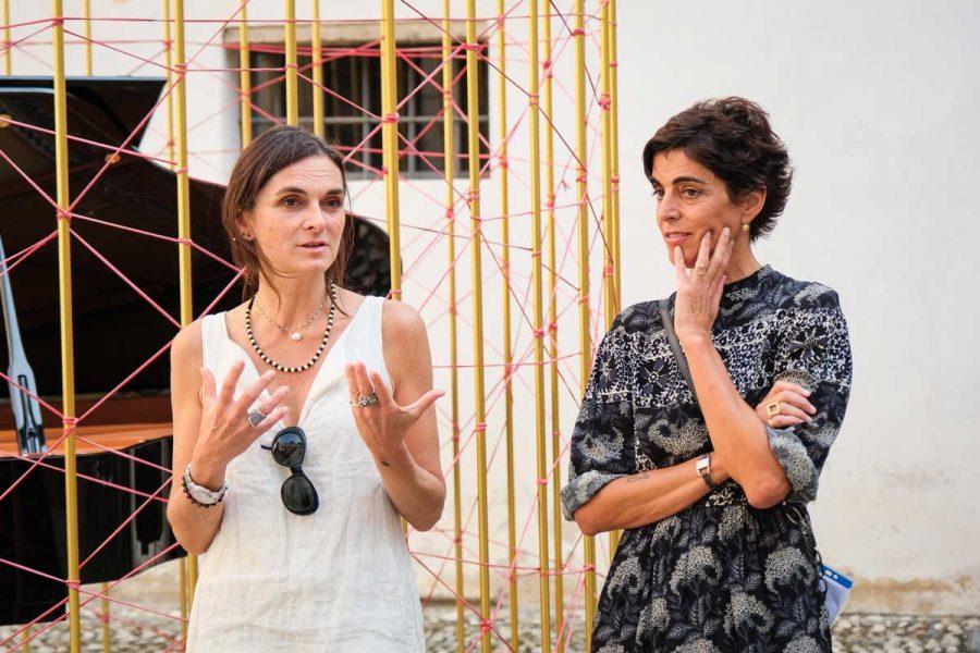Olga Gambari e Letizia Cariello